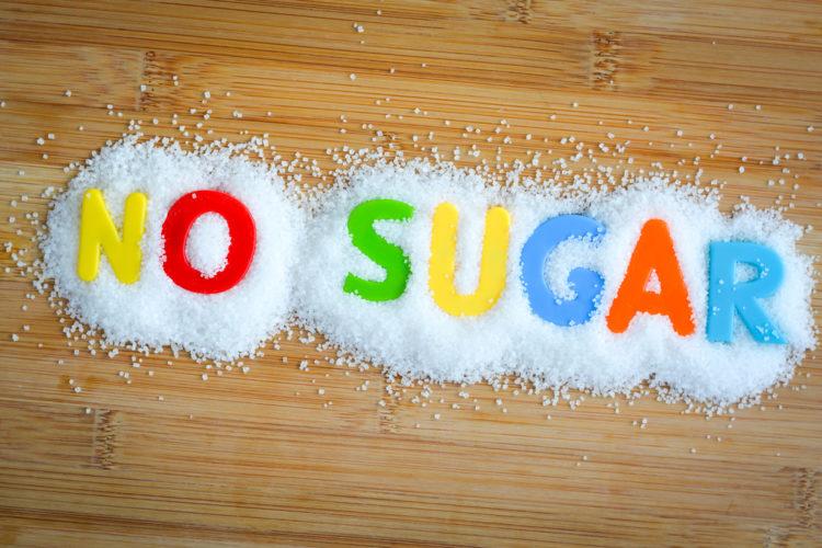 普段身体に入れている砂糖の割合をご覧ください