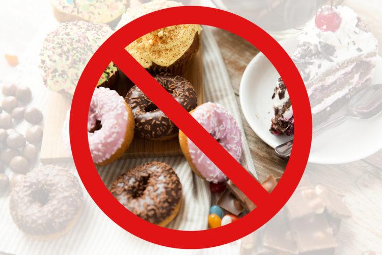 砂糖はダイエットに全くよくありません